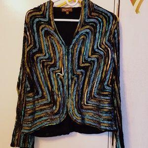 psychedelic jacket size 14